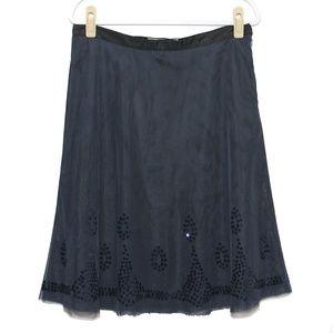 Old Navy - Blue Tulle overlay skirt